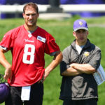 Kirk Cousins and Drew Petzing