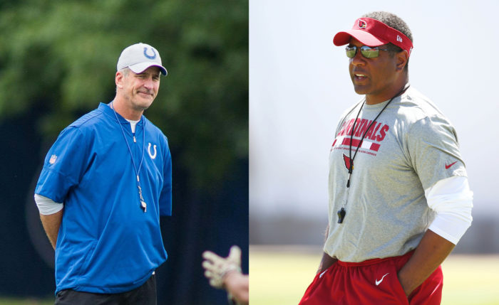 Frank Reich, Steve Wilks Face Biggest Challenges Among NFL's Rookie Head Coaches