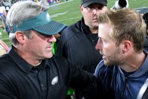 Doug Pederson and Sean McVay