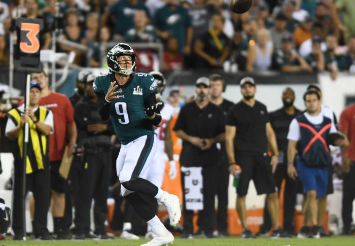 For Philadelphia Eagles and Atlanta Falcons, the 2018 Season Is Already a Repeat