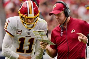 Alex Smith and Jay Gruden