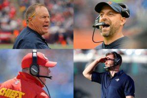 Head Coach Rankings for NFL Week 4