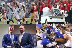 Emptying the Notebook: NFL At the Quarter Pole