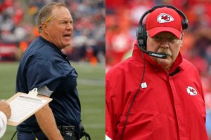 Bill Belichick and Andy Reid