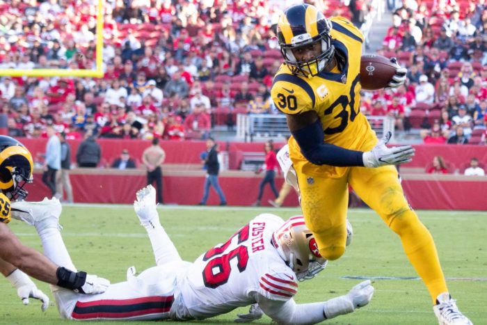 Los Angeles Rams Remain First in HCR's Game Control Index