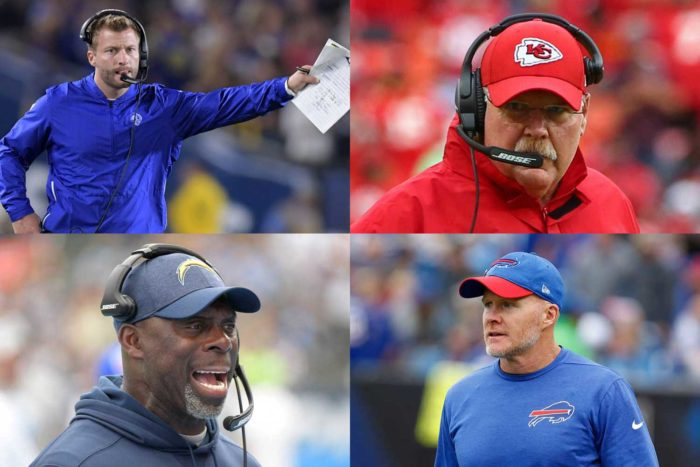 Head Coach Rankings for NFL Week 5