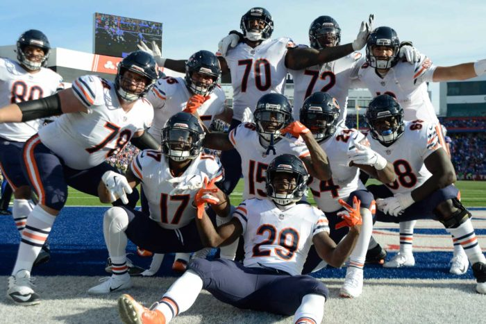 Chicago Bears Take Over Top Spot in HCR's Game Control Index