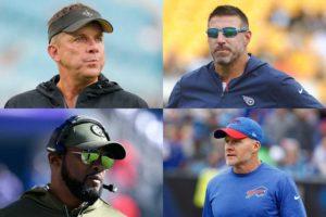 Head Coach Rankings for NFL Week 10