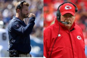 Sean McVay and Andy Reid