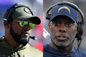Mike Tomlin and Anthony Lynn