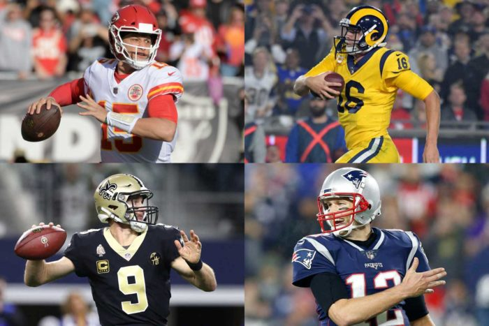 When NFL Playoffs Start, It's a Safe Bet Top Four Teams Will Be Final Four Teams