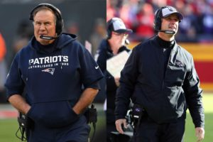 Bill Belichick and John Harbaugh