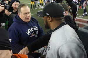 Bill Belichick and Mike Tomlin