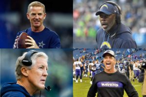 Head Coach Rankings for Week 13 in the NFL