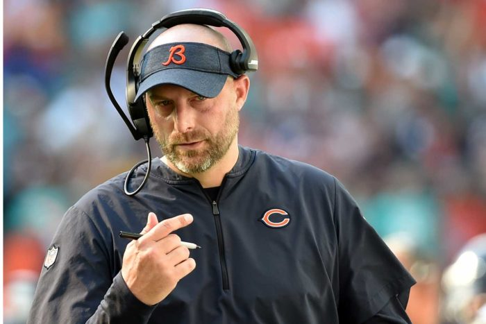 Here's Why Chicago Bears' Matt Nagy Should Be Coach of the Year