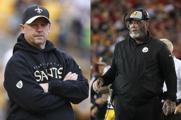 Matchup to Watch: Saints OL Coach Dan Roushar vs. Steelers DL Coach Karl Dunbar