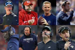 17 Facts About the Coaches in This Weekend's NFL Divisional Playoff Games