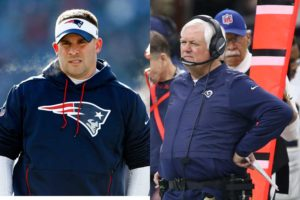 Josh McDaniels and Wade Phillips