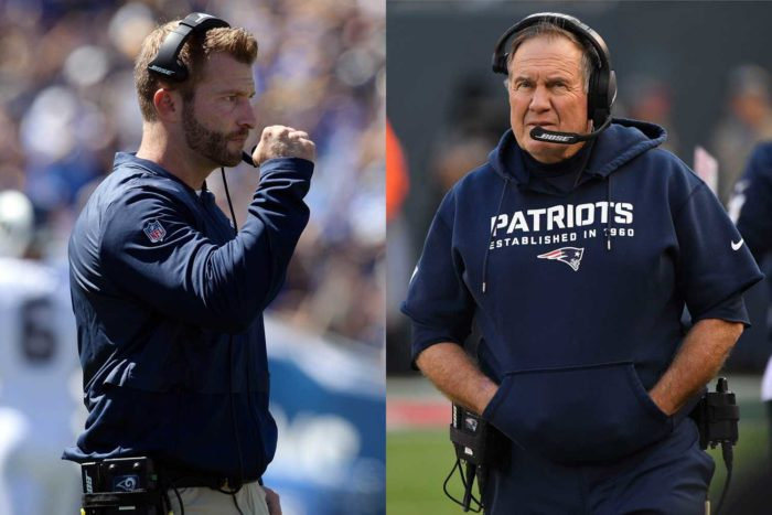 Super Bowl LIII: The Bill Belichick-Sean McVay Connection