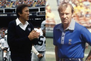 Tom Flores and Don Coryell
