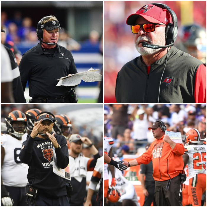 Head Coach Rankings Update After NFL Week 4