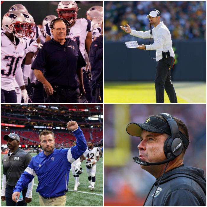 Head Coach Rankings Update After NFL Week 7