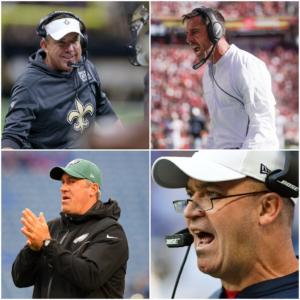 Head Coach Rankings Update After Week 8