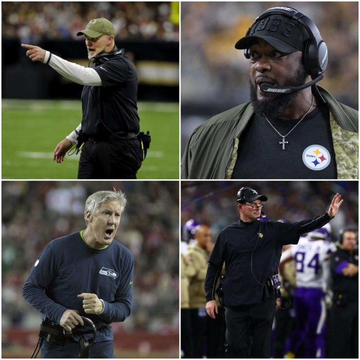 Head Coach Rankings Update After NFL Week 10