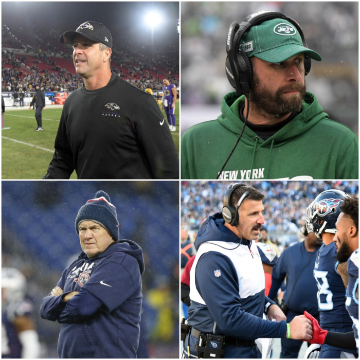 Head Coach Rankings Update After Week 12