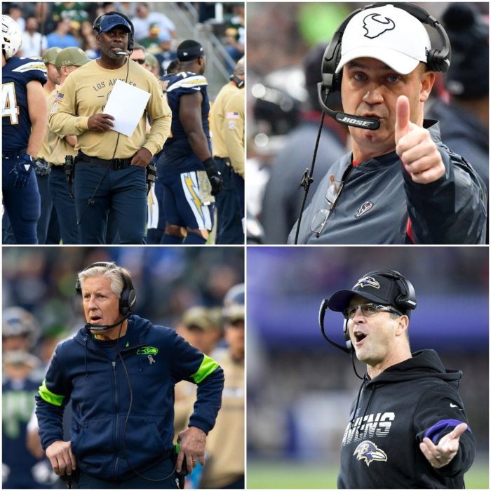 Head Coach Rankings Update After NFL Week 9