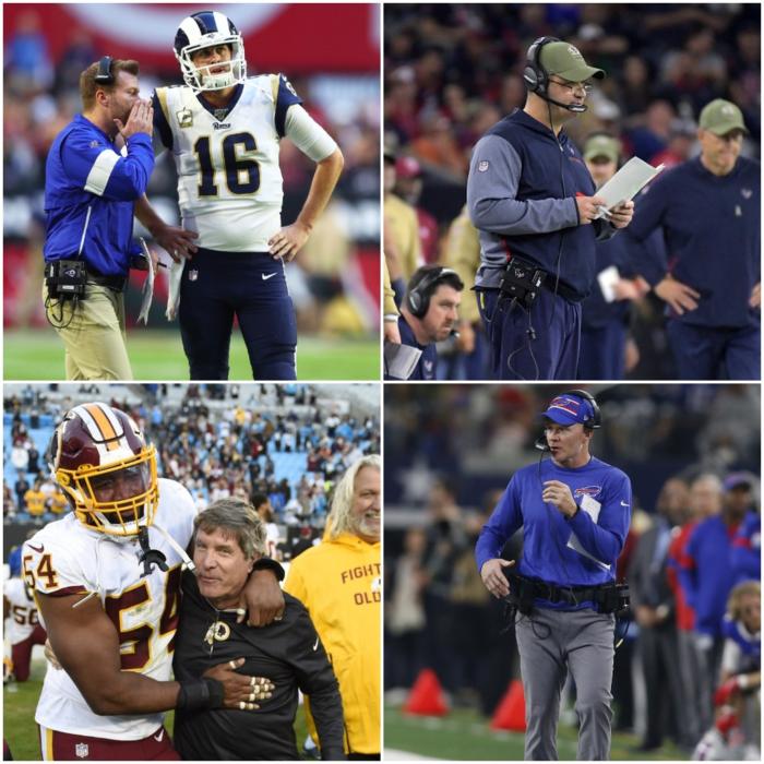 Head Coach Rankings Update After NFL Week 13