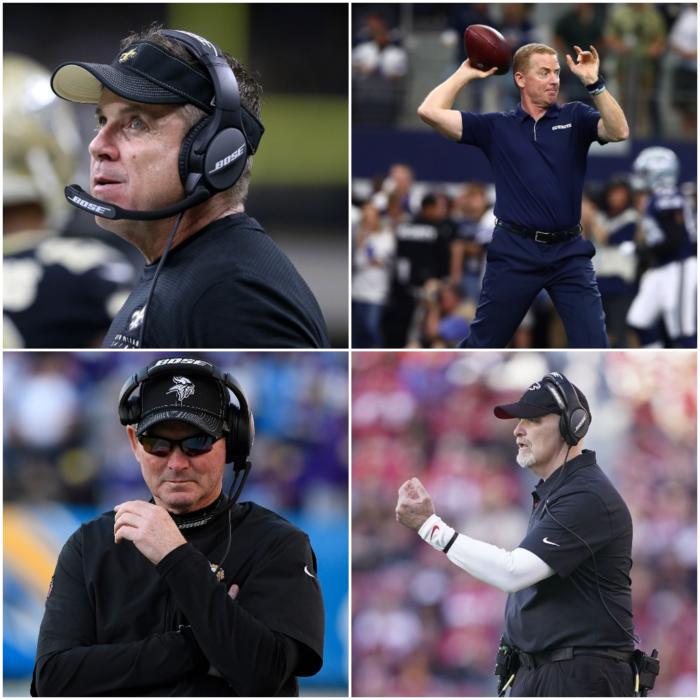 Head Coach Rankings Update After NFL Week 15