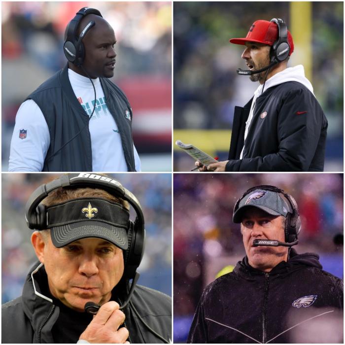 Head Coach Rankings Update After NFL Week 17