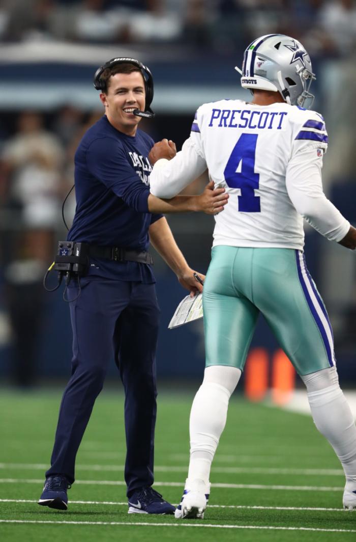Dallas Cowboys' Announcement That Kellen Moore Will Call Plays Tabs Him as the Future Head Coach