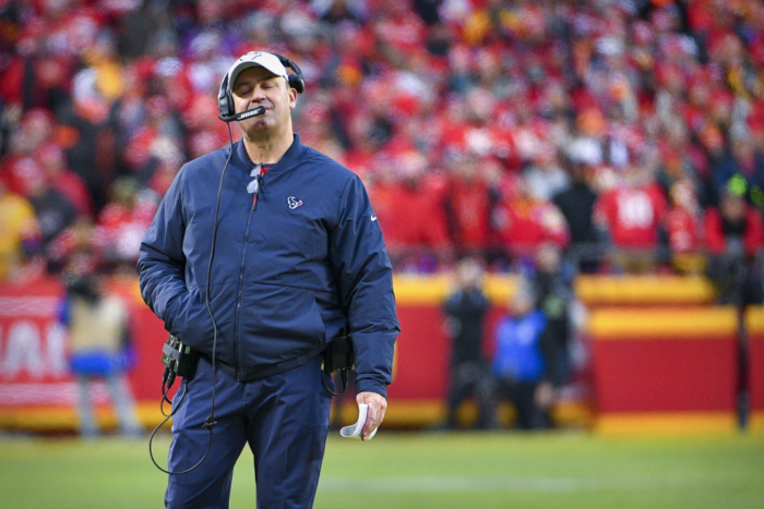 Epic Malpractice by Houston Texans Head Coach Bill O'Brien Leads to Historic Defeat