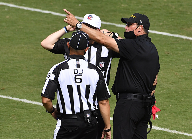 Let's Cut The Referees Some Slack For Early Season Miscues